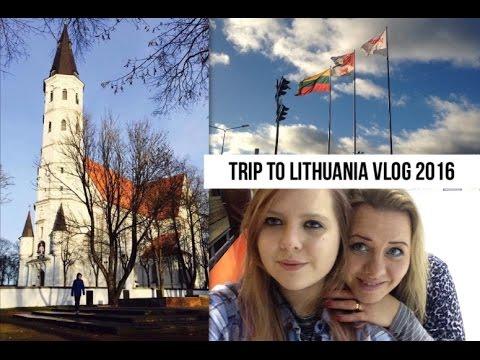Trip to Lithuania Vlog 2016