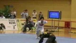 2006 China National Wushu Championship Men's Dui Lian 5 Zhang Jing Bo Zhang Xiao Yan