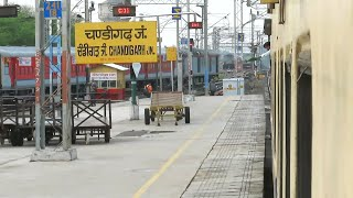 Departing from City Beautiful 'Chandigarh' Station