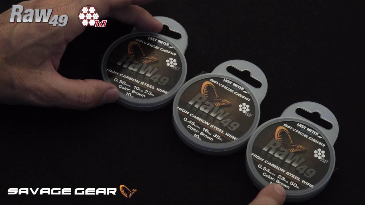 Savage Gear Carbon 49 Wire