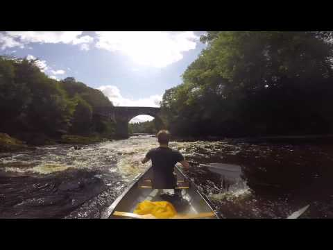 Canoeing the River Esk