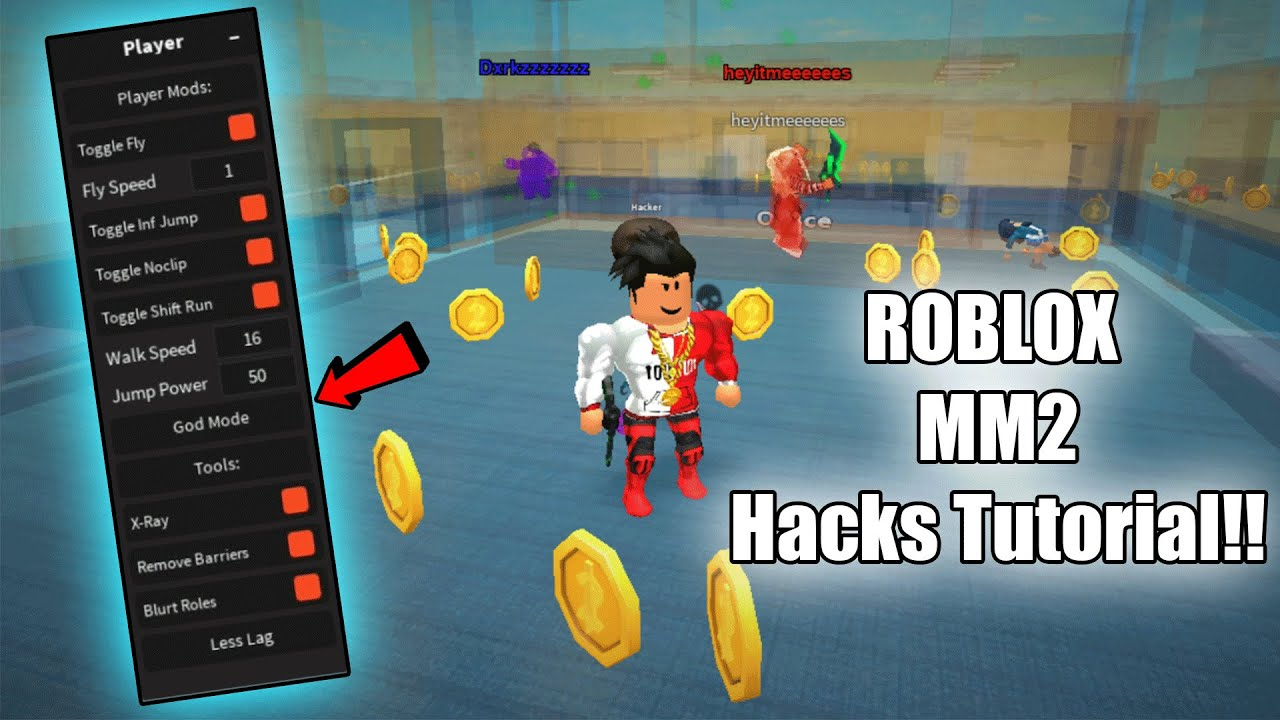I Found A Hacker In Murder Mystery 2 Roblox Youtube Roblox Murder Mystery 2 Script Hack Esp Kill All Noclip Fly More Even Better Youtube