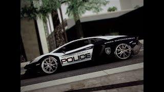 Lamborghini Aventador Anniversario Police GTA San Andreas Android