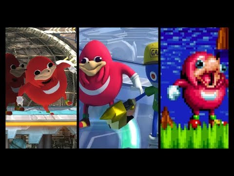 UGANDAN KNUCKLES (Smash,Mania,Forces Mods)