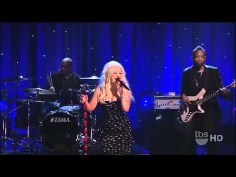 Christina Aguilera  Somethings Got a Hold On Me  Conan OBrien HD