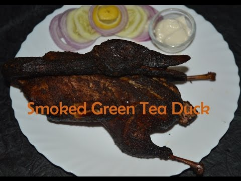 tea smoked duck with green tea how to smoke duck at home exotic