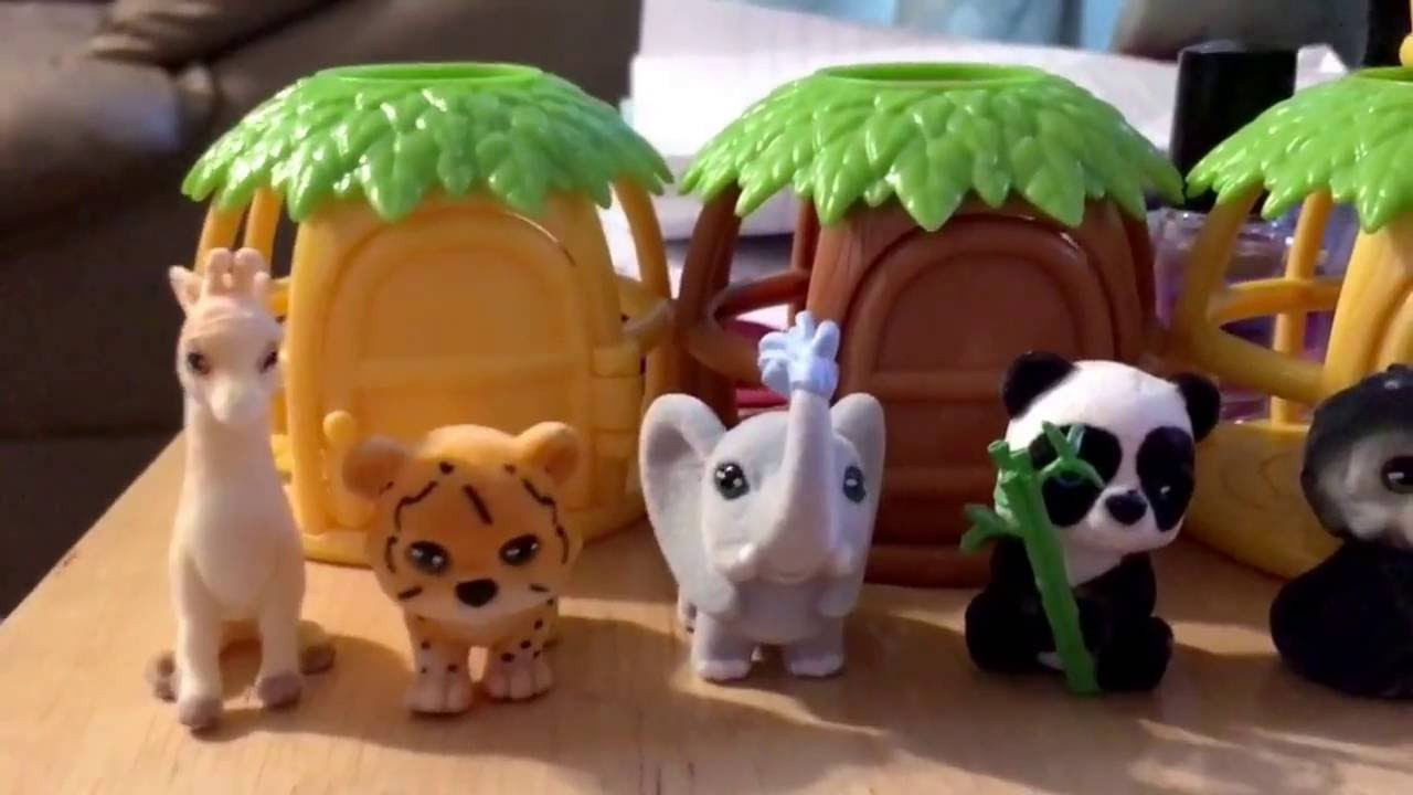 Jungle in My Pocket Blind Bag Opening with Twin 8 Year Olds!! - YouTube