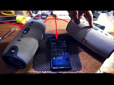 ✅ JBL КОЛОНКА / КАК ПОДКЛЮЧИТЬ ДВЕ Bluetooth КОЛОНКИ / СИНХРОНИЗИРОВАТЬ #HelpDroid