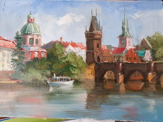 Карлов мост -The Charles Bridge.Vugar Mamedov