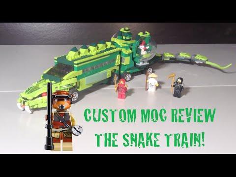Lego ninjago the snake train moc youtube - Serpent lego ninjago ...
