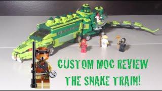 Lego Ninjago The Snake Train MOC