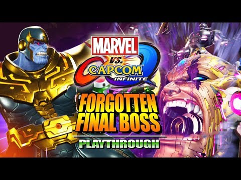 THE FORGOTTEN FINAL BOSS: Thanos Arcade Mode - Marvel Vs. Capcom Infinite