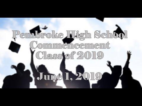 Pembroke High School Graduation - June 1, 2019