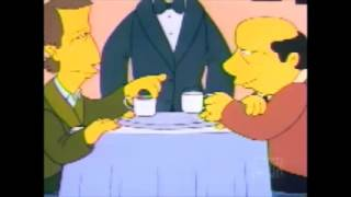 the simpsons my dinner with andre