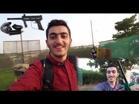 بينت بول في الخرطوم || PAINT BALL IN KHARTOUM