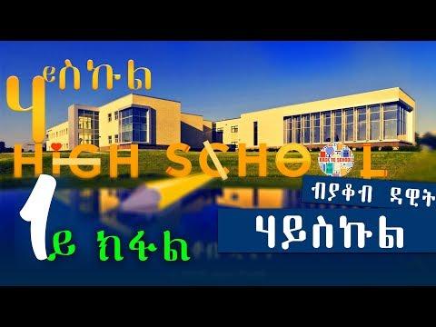 HIGH SCHOOL | ሃይስኩል (1ይ ክፋል) - New Eritrean Series Story 2018 by Yacob Dawit