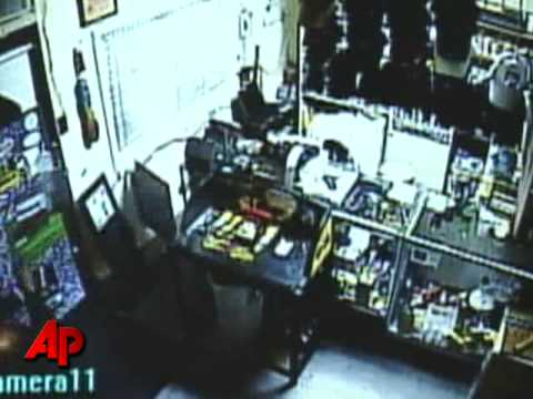 Camera Captures Store Clerk Shooting