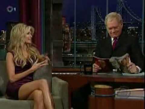 Marisa Miller on Late  w David Letterman