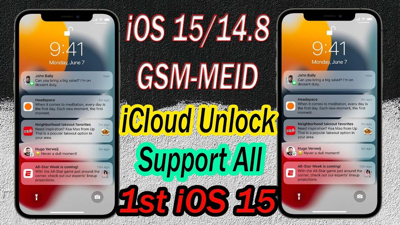 New release iOS 15/14.8/12.5.5 iCloud Activation unlock with SIM Call 100% FIX, Support All Devices