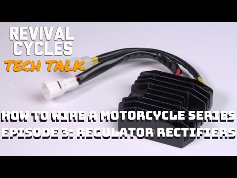 How To Wire a Motorcycle Series, Episode 3: Regulator Rectifiers Explained // Revival Tech Talk
