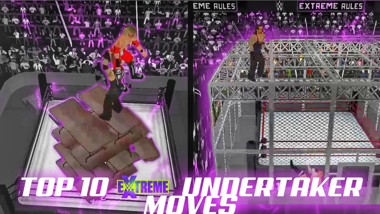WR3D 2K20: Top 10 Extreme Undertaker Finishers