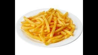 Как сделать вкусную и хрустящую картошку фри?