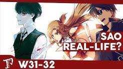 SAO als Real Life-Serie & Tokyo Ghoul wird umgeschrieben | Proxer NewsCast #13