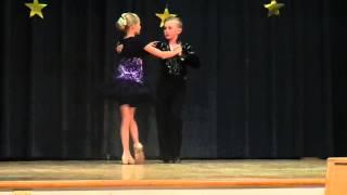 Bagby school talent show 2015 - rumba - Denis & Sophie