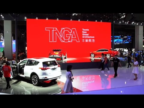 Toyota Booth Introduction -The 17th Shanghai International Automobile Industry Exhibition-