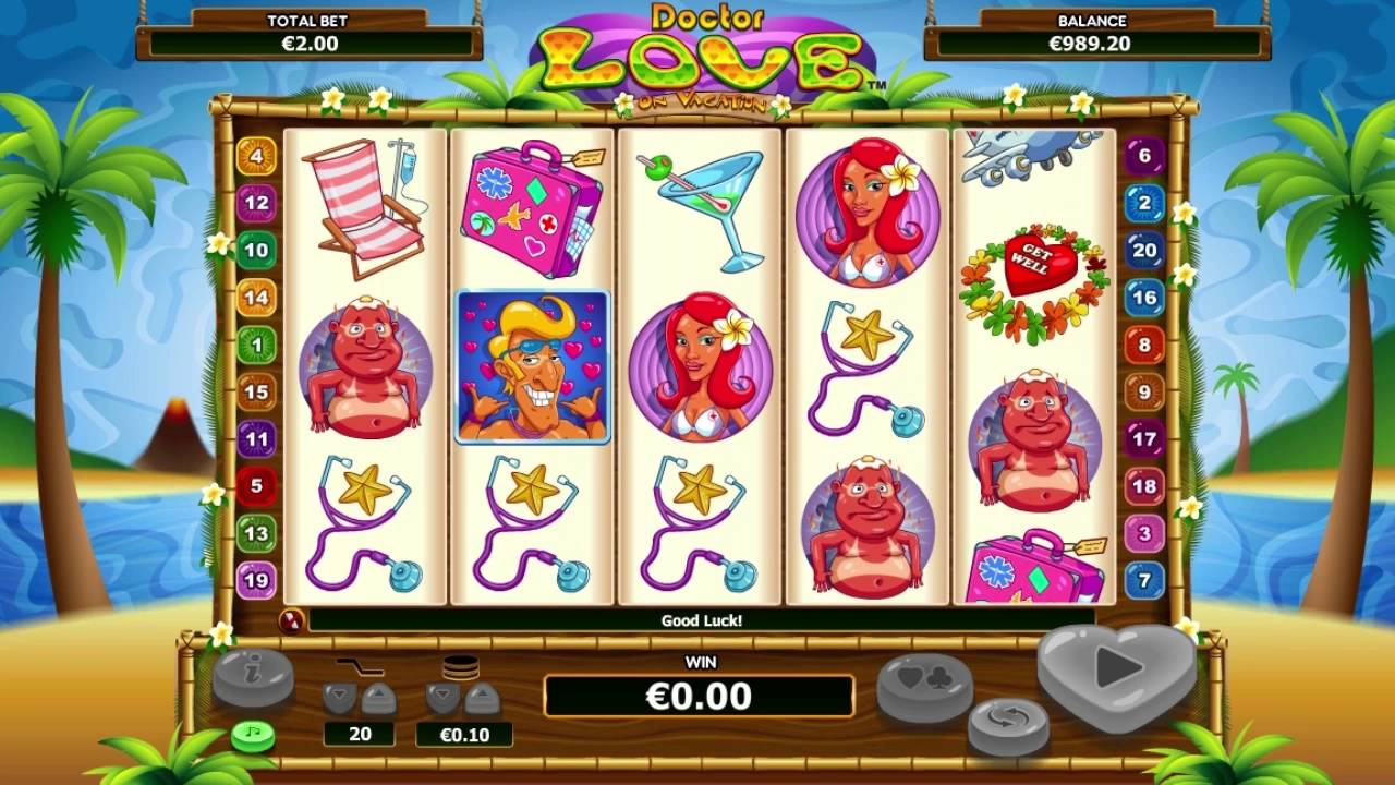 Crazy doctor love on vacation slot machine online nextgen gaming box play now