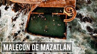 El malecón de Mazatlán Sinaloa, la alberca natural Carpa Olivera y las pulmonías,   | El Andariego