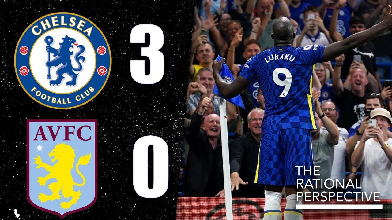 ROMELU LUKAKU CHELSEA MASTERCLASS! Mendy MOTM! Saul struggles: Chelsea 3-0 Aston Villa