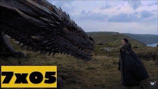 Game Of Thrones 7x05  Análisis + Cosas que no viste!