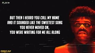 The Weeknd - Missed You (Lyrics)