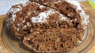 Ирландский содовый хлеб. Очень вкусный хлеб  на десерт.