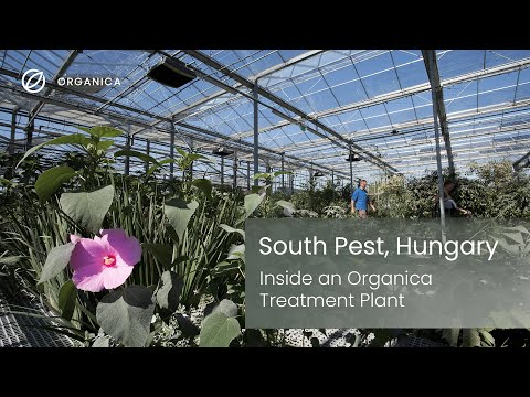 Inside an Organica treatment plant: South Pest, Hungary