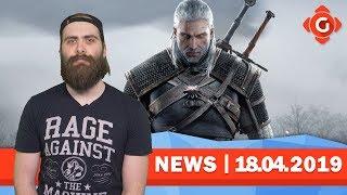 The Witcher: Netflix-Serie noch 2019! The Division 2: Raid verschoben! | GW-NEWS