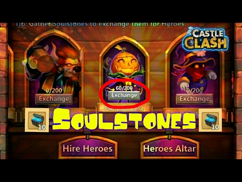 Castle Clash: The Best Way To Get Soulstones