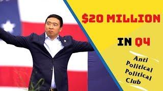 How Andrew Yang Will Raise $20 Million in Q4 | #Yang2020