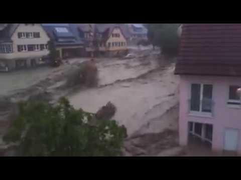 Unwetter Baden Württemberg