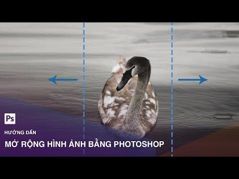 Thủ thuật mở rộng hình ảnh có góc nhìn thu hẹp trong Photoshop   Designer Việt Nam