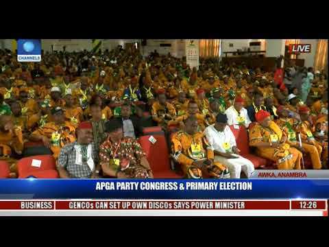 APGA Party Congress & Primary Election Pt.1  l Live Coverage l