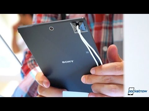 Sony Xperia Z3 Tablet Compact Hands On