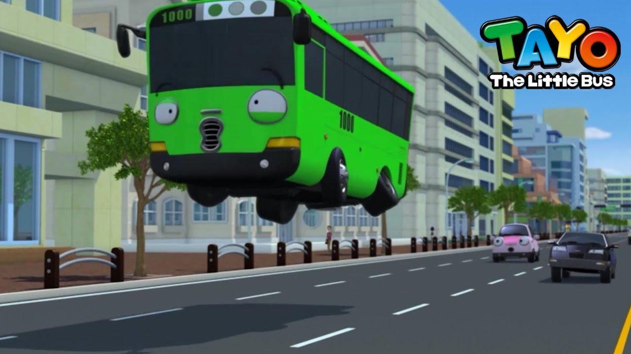 Download Tayo English Episodes l Can Rogi fly while he works?! l Tayo the Little Bus