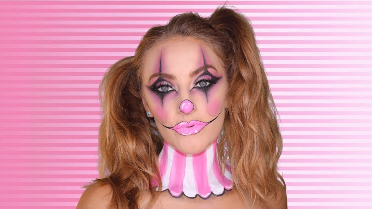 Cute Clown Halloween Makeup Tutorial (Day 2 of 31 Days of Halloween)