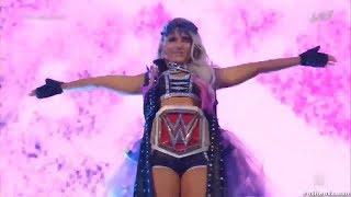 Alexa Bliss Entrance at Wrestlemania 34