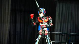 vuclip Madman National Cosplay Championship 2013 Perth 2nd Place James: The Lazengann (Gurren Lagann)