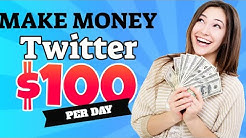 How to Make Money on Twitter 2019 | $100/day