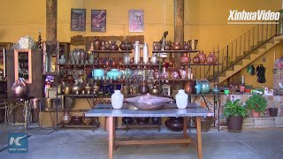 A copper colored dream! Magic town in Mexico produces exquisite copper products