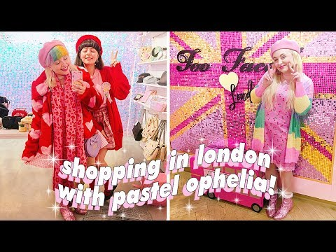 💕🇬🇧 London Arrival And Shopping With Pastel Ophelia! 🇬🇧💕